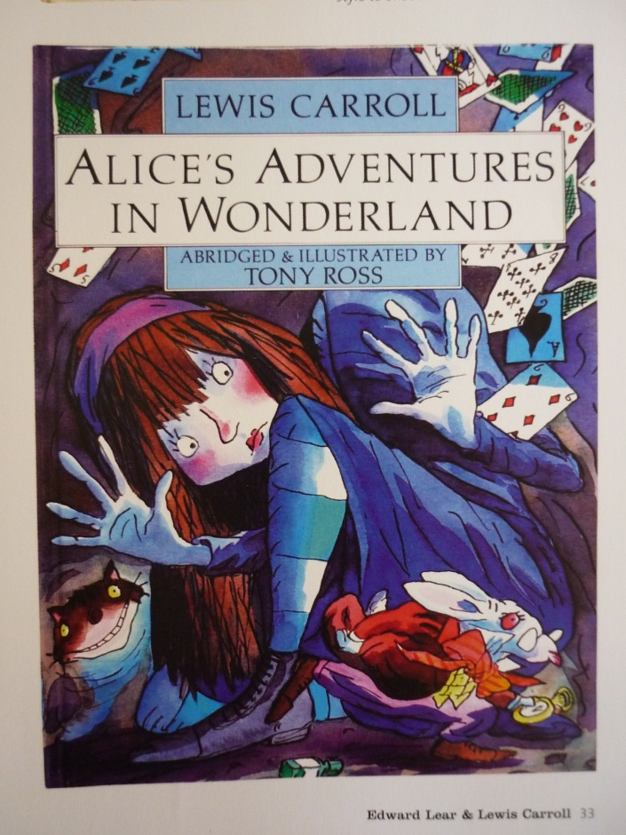 Alice's Adventures in Wonderland by Lewis Carroll, Page 33.
